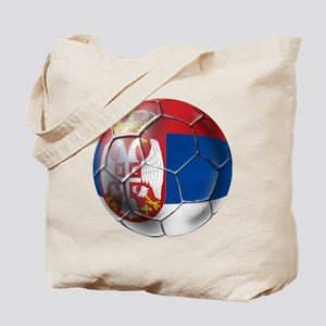Serbian Football Tote Bag